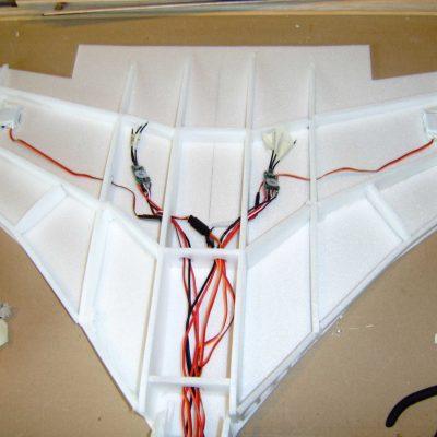 Avro Vulcan motor wiring