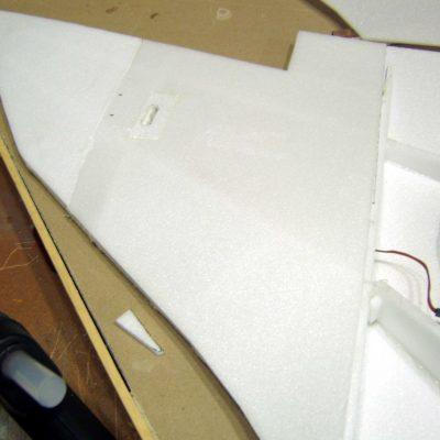 Avro Vulcan wing