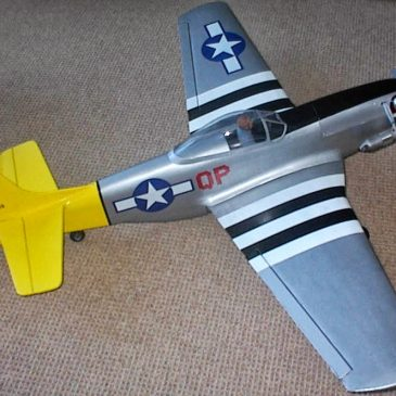 P51D Mustang Radio Controlled