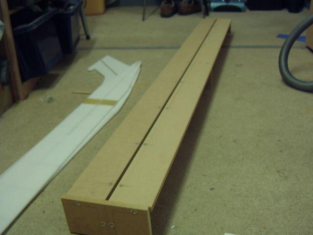 vc10 fuselage jig