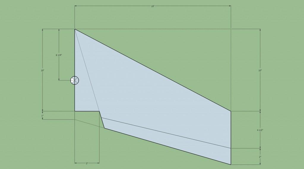 flying wing design