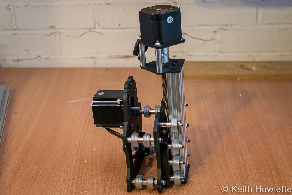 Side view of Z axis