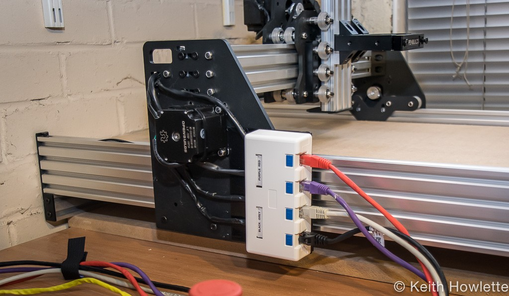 CNC OX router from openbuilds stepper motor wiring