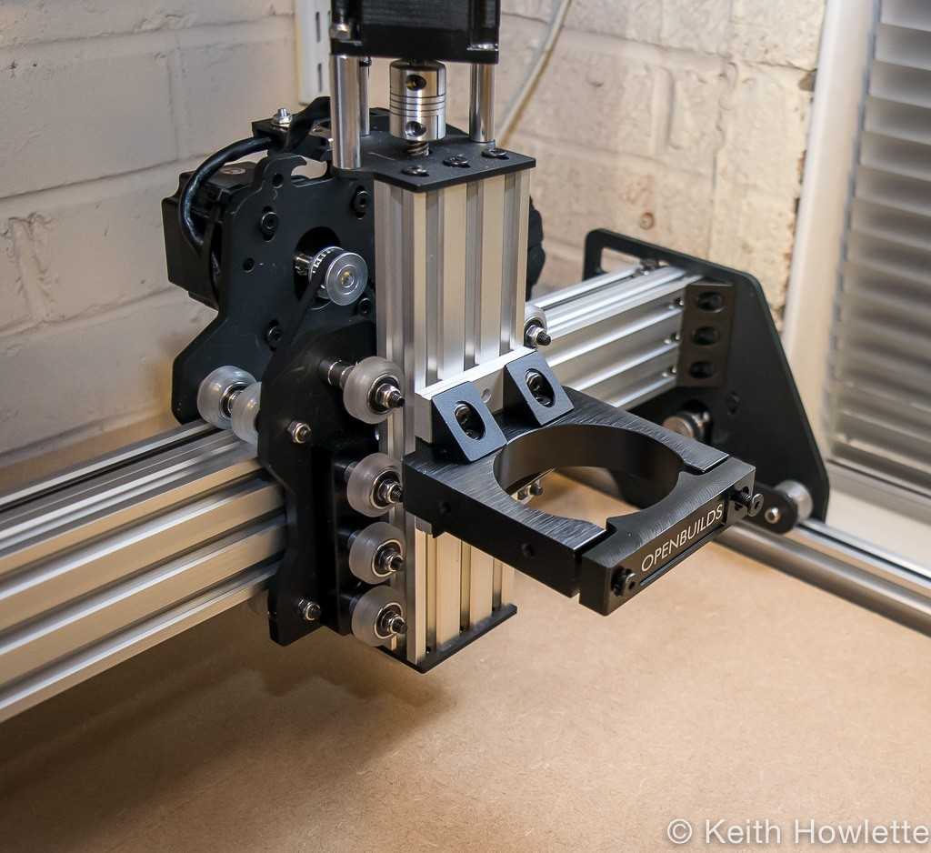Ooznest CNC router mount