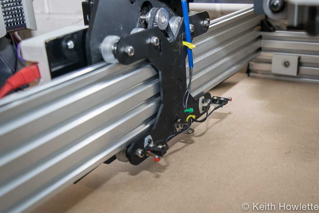 ox cnc router y-home/limit switch