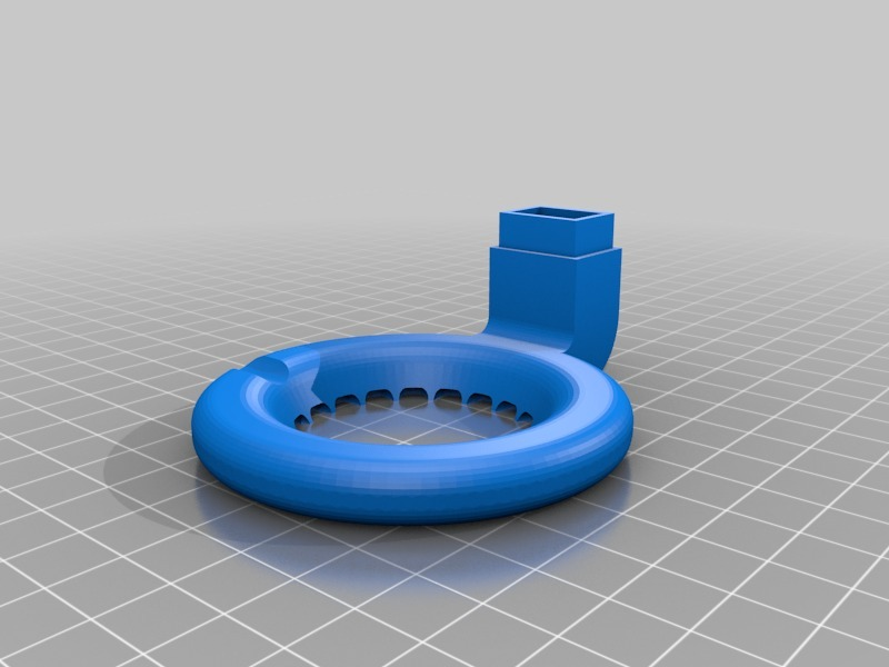 Anet A8 3D printer cooling nozzle upgrade
