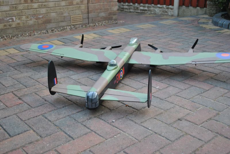 Lancaster rear view