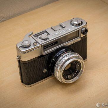 Vintage Rangefinder – Yashica Minister D