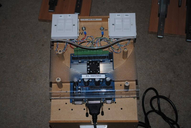 Mach3 tb6560 controller for 4 axis cnc
