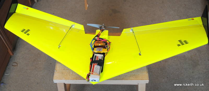 Hot Wire CNC flying wing