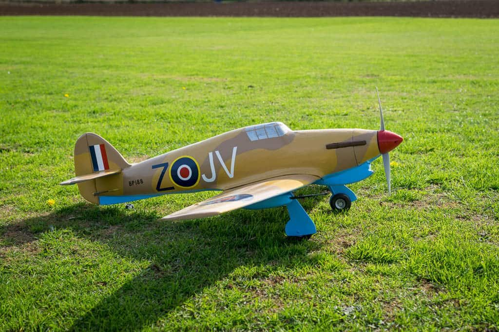 Hurricane Maiden flight