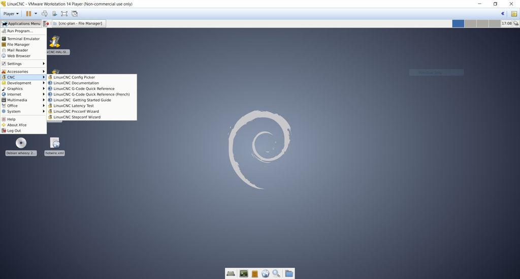 LinuxCNC stepconf