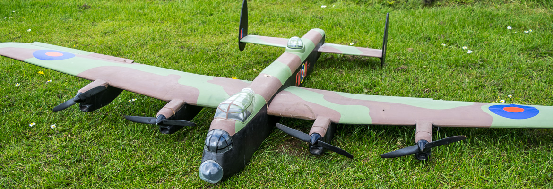 RC Avro Lancaster