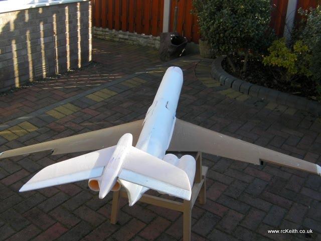 VC10 Tail View