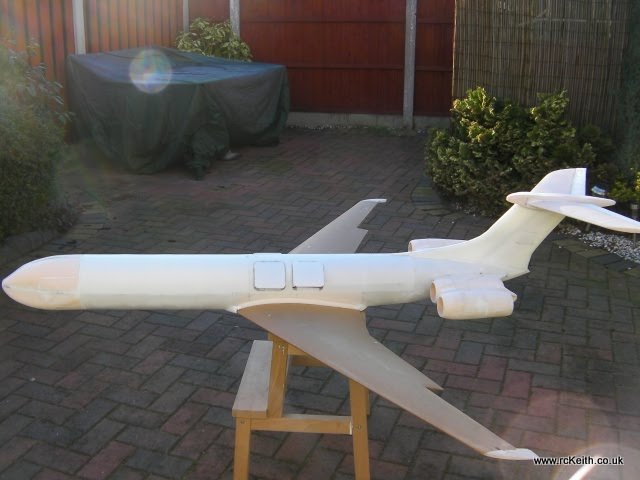 VC10 Side View