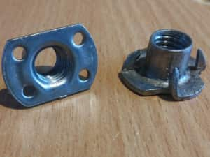 tee-nuts for cnc foam cutter