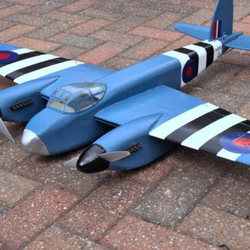 De Havilland Mosquito  – Tony Nijhuis 46 inch Kit